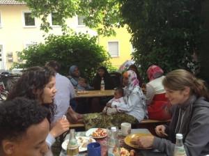 Kleines Lampedusa in Hanau Fest an der MEetzgerstraße