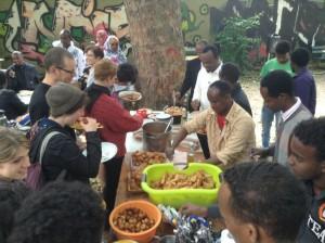 Kleines Lapedusa in Hanau Fest an der Metzgerstraße mit leckerem somalischem und eritreischem Essen