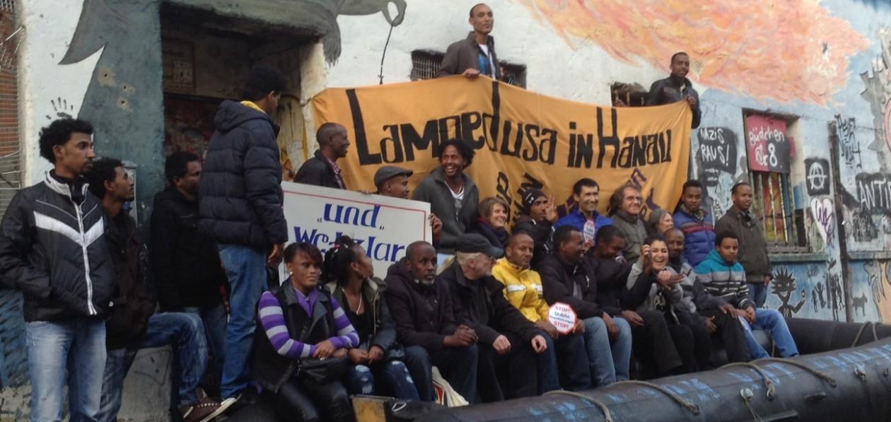 Lampedusa in Hanau